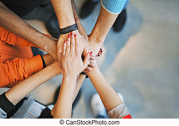 pokaz, teamwork, jedność, morze, siła robocza