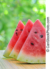 pokrojony watermelon
