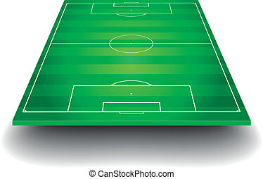 pole, piłka nożna, perspektywa