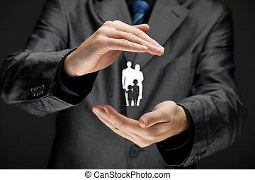 polisa, życie ubezpieczenie, rodzina