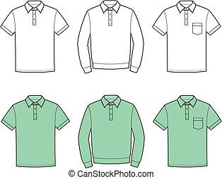 polo, t-shirt