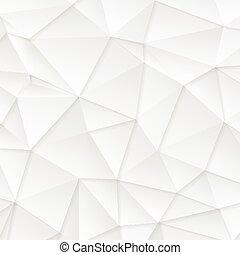 polygonal, abstrakcyjny, tech, szary, tło