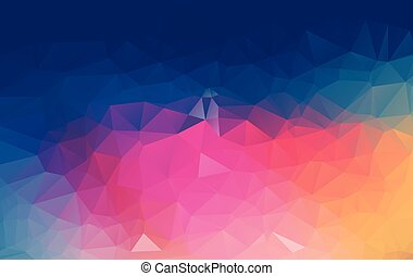 polygonal, wektor, szablony, ilustracja, tło, lekki, mozaika, handlowy, projektować