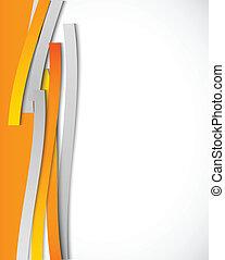 pomarańcza, abstrakcyjny, kwestia, tło