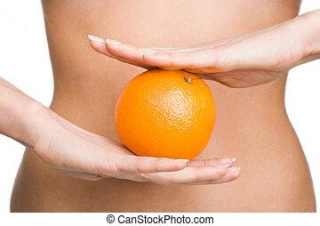 pomarańcza, dieta
