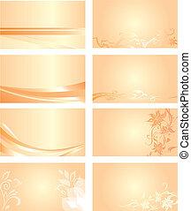 pomarańcza, handlowa karta, tło