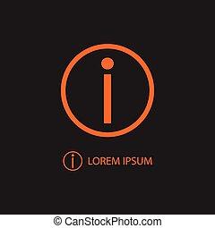 pomarańcza, informacja, czarnoskóry, znak