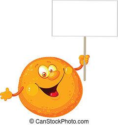 pomarańcza, okienko znaczą