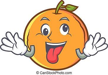 pomarańcza, pomylony, owoc, litera, rysunek