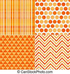 pomarańcza, próbka, seamless, struktura