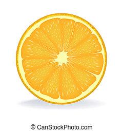 pomarańczowa kromka