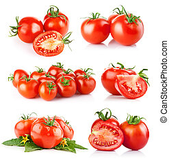 pomidor, świeża zielenina, komplet
