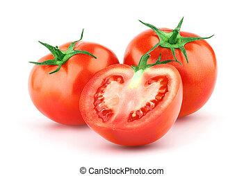 pomidor, liść, zielony