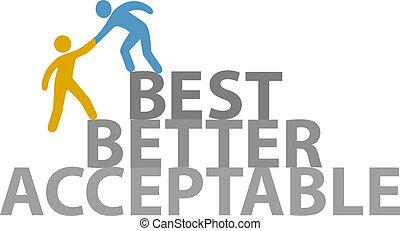 pomoc, ludzie, praca, do góry, lepszy, najlepszy