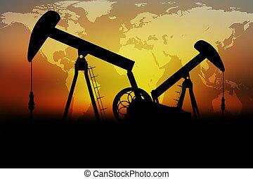pompy, nafta