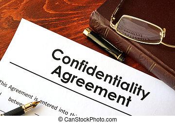 porozumienie, poufność