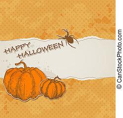 porwany papier, halloween, tło