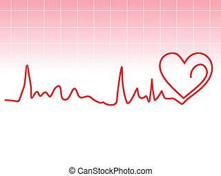 potłuczenie serca, abstrakcyjny