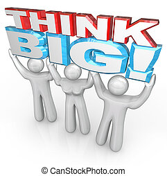 powodzenie, ludzie, cielna, razem, dźwig, słówko, drużyna, myśleć