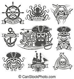 pozycje, pirat