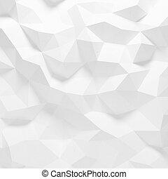 próbka, abstrakcyjny, faceted, geometryczny