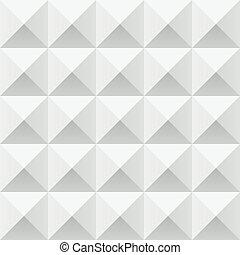 próbka, abstrakcyjny, szary, seamless, geometryczny, kwadraty, biały