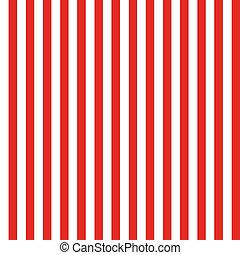 próbka, biały, seamless, czerwony pas