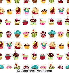 próbka, cupcakes