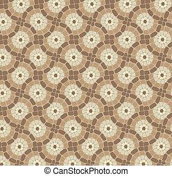 próbka, kamień, mozaika, tło, dachówka, wektor, podłoga