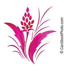 próbka, klasyczny, kwiat, capstrzyk