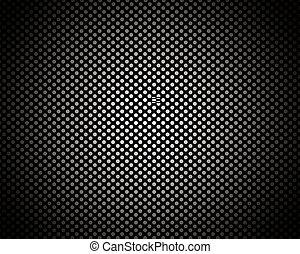 próbka, koło, czarne tło, struktura
