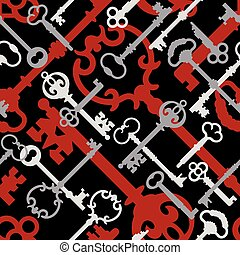próbka, red-black, szkielet klucz