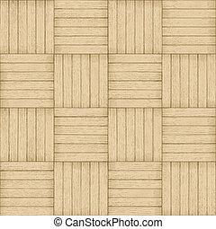 próbka, -, seamless, drewno, tło, parkiet