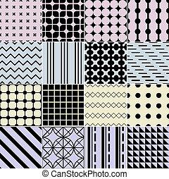 próbka, seamless, geometryczny