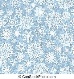próbka, wektor, łuski, seamless, śnieg