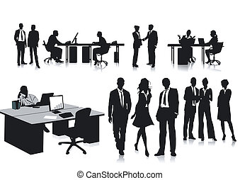 pracownicy, biuro