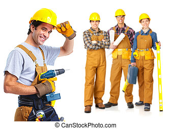pracownicy, kontrahenci, ludzie