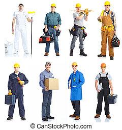 pracownicy, ludzie., kontrahenci
