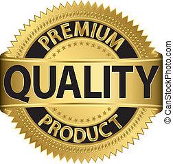 premia, produkt, jakość, labe, złoty