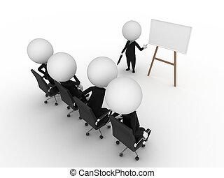 prezentacja, handlowy