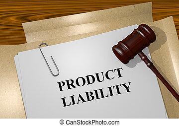 produkt, pojęcie, odpowiedzialność