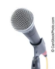 profesjonalny, mikrofon