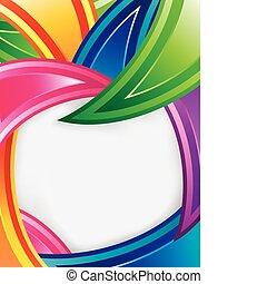 projektować, barwny