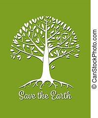 projektować, drzewo, twój, podstawy