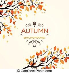 projektować, jesienny