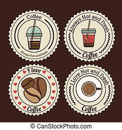 projektować, kawa