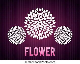 projektować, kwiatowy