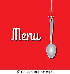 projektować, menu