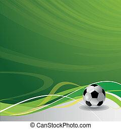 projektować, szablon, soccer piłka nożna, /