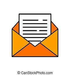 projektować, szablon, wektor, wiadomość, ilustracja